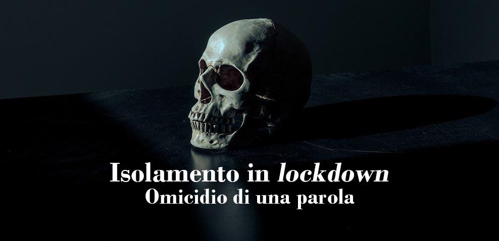 omicidio in lockdown